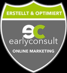 Diese Website wurde von der earlyconsult GmbH erstellt und optimiert